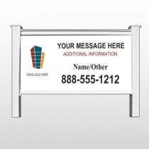 "Mortgage 177 48""H x 96""W Site Sign"