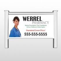 "Pharmacist 104 - 48""H x 96""W Site Sign"
