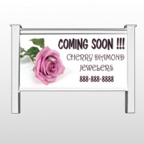 "Pinkrose Hidden Ring 399 48""H x 96""W Site Sign"