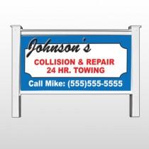 """Repair 124 48""""H x 96""""W Site Sign"""