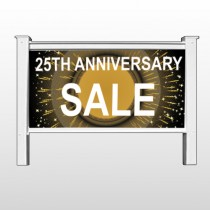 "Sale 55 48""H x 96""W Site Sign Stand"