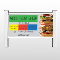"Sandwich 375 48""H x 96""W Site Sign"