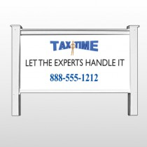 "Tax Time 171 48""H x 96""W Site Sign"