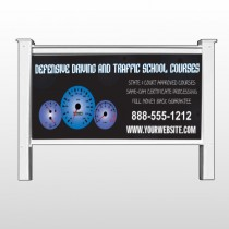 "Traffic School 152 48""H x 96""W Site Sign"