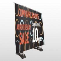 Anniversary Sale 14 Exterior Pocket Banner Stand