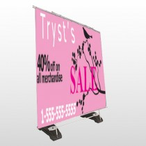 Bird Branch Sale 08 Exterior Pocket Banner Stand