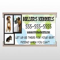 Dog Kennels 300 Track Sign