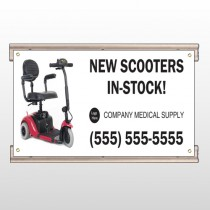 New Scooter 100 Track Sign
