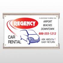 Rental Car 39 Track Sign