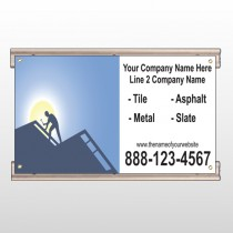Roofing 258 Track Sign