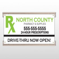 RX North County 105 Track Sign