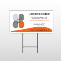 Advertised Offer 150 Wire Frame Sign