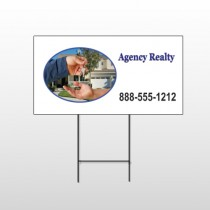 House Keys 249 Wire Frame Sign