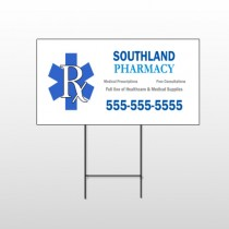 Pharmacy 103 Wire Frame Sign