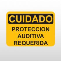 OSHA Cuidado Proteccion Auditiva Requerida