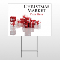Christmas 25 Wire Frame Sign