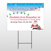 Christmas 28 Wire Frame Sign