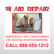 AC Repair 251 Site Sign