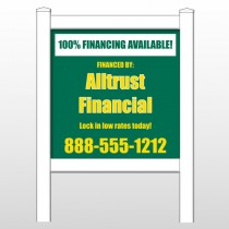 "Alltrust 482 48""H x 48""W Site Sign"
