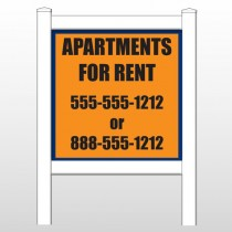 "Apts 470 48""H x 48""W Site Sign"
