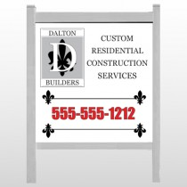 "Builder 34 24""H x 48""W Site Sign"