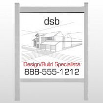 "Builder 35 48""H x 48""W Site Sign"
