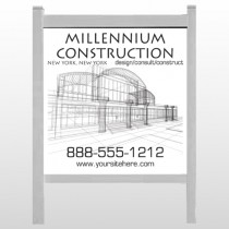 "Builder 36 48""H x 48""W Site Sign"