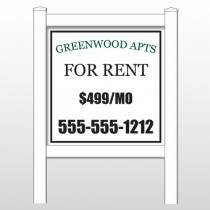 "Greenwood 467 48""H x 48""W Site Sign"