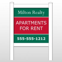 "Milton 285 48""H x 48""W Site Sign"