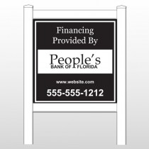 "Peoples 487 48""H x 48""W Site Sign"