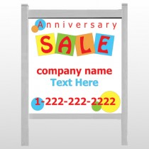 "Square Circle Sale 15 48""H x 48""W Site Sign"
