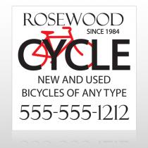 Bike Shop 33 Custom Banner