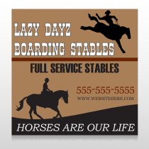 Boarding Stables 304 Custom Banner