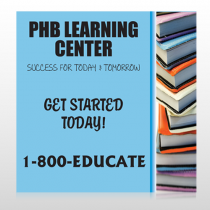 Book Learning 156 Site Sign