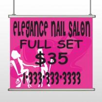 Elegant Nails 643 Hanging Banner