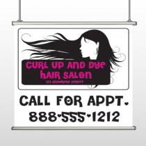 Hair 130 Hanging Banner