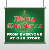 Merry Christmas 29 Hanging Banner