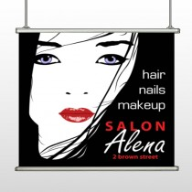 Salon 125 Hanging Banner