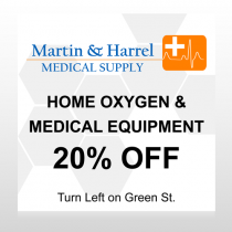 Home Oxygen 139 Custom Decal