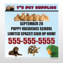 Pet Supplies 305 Site Sign
