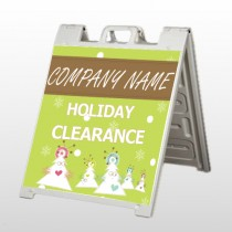 Holiday Clearance 13 A Frame Sign
