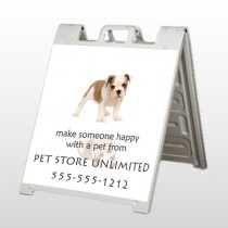 Pet Store 26 A Frame Sign