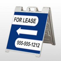 For Lease A Frame Sign