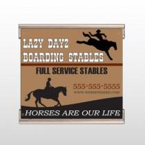 Boarding Stables 304 Track Banner