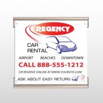 Rental Car 39 Track Banner
