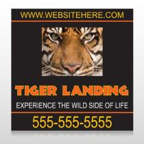 Tiger Landing 303 Custom Sign