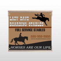 Boarding Stable 304 Track Sign
