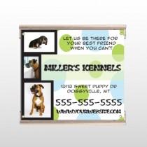 Dog Kennels 300 Track Sign
