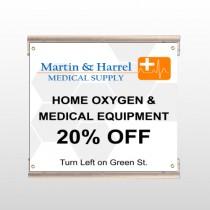 Home Oxygen 139 Track Sign