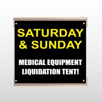 Medic Liquidation 331 Track Sign